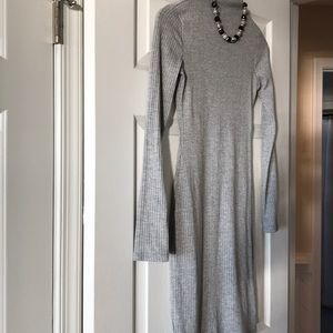 EUC Never worn mock ribbed turtleneck dress